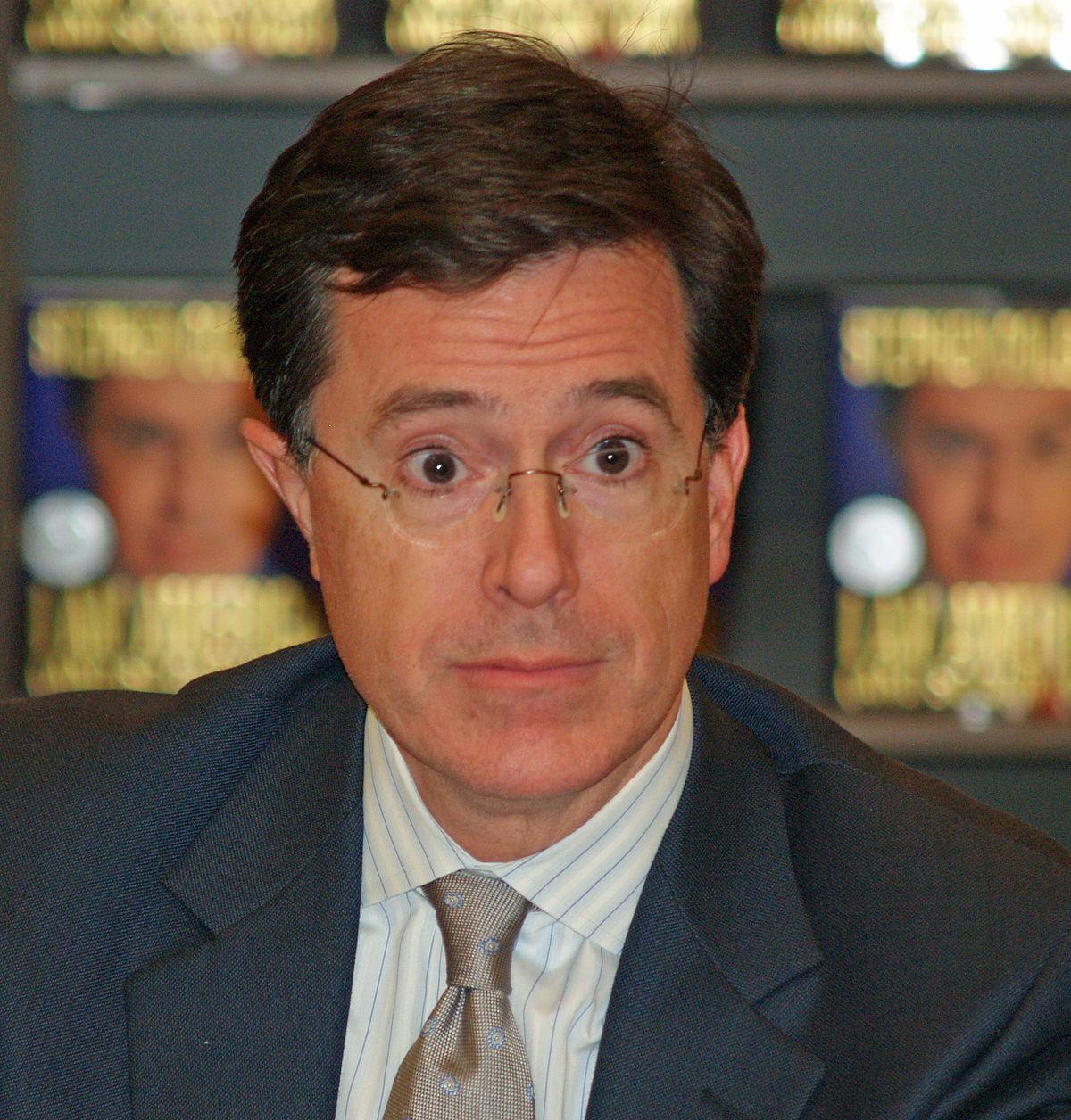 Stephen Colbert - Wikiquote Stephen Colbert