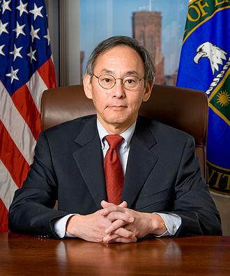 Berkeley Forum - Image: Steven Chu official DOE portrait