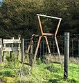 Stile near Cargan - geograph.org.uk - 1545678.jpg