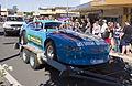 Stock car in the SunRice Festival parade in Pine Ave.jpg