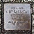 Stolperstein Bocholt Ostmauer 3 Aurelia Landau.jpg