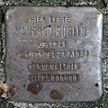 Stolperstein Eichborndamm 240 (Wittn) Manfred Röglin.jpg