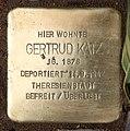 Stolperstein Konstanzer Str 1 (Wilmd) Gertrud Katz.jpg