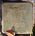 Stolperstein Richard-Strauss-Str 1 (Grune) Eva Weinmann.jpg