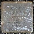 Stolperstein Zilli Fuld (Korngasse 11 Butzbach).jpg