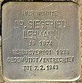 Stolperstein für Dr. Siegfried Lehmann (Potsdam).jpg