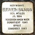 Stolperstein für Elisabeth Baumann.JPG