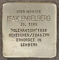 Stolperstein für Isak Engelberg (Heidelberg).jpg