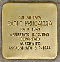 Stolperstein für Paolo Procaccia (Napoli).jpg