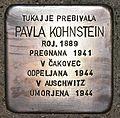 Stolperstein für Pavla Kohnstein.JPG