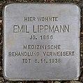 Stolpersteine Köln, Emil Lippmann (Bachemer Straße 327).jpg