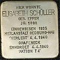 Stumbling block for Elisabeth Schüller (Great Greek Market 93)
