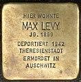Stolpersteine Krefeld, Max Levy (Neusser Straße 38).jpg