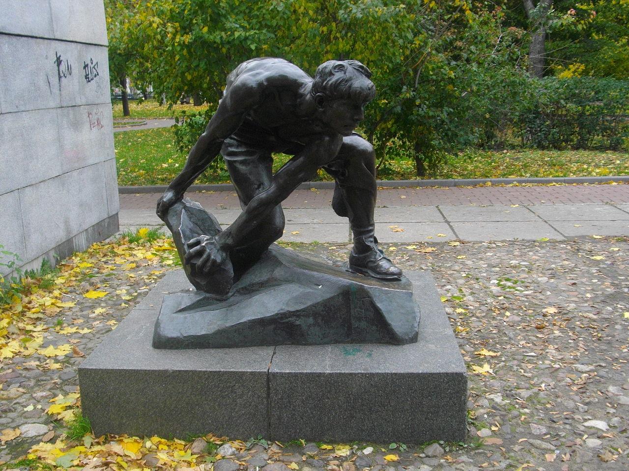 Влад Голь-де-Шмидт: Камни — тоже оружие
