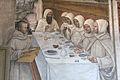 Storie di s. benedetto, 31 sodoma - Come Benedetto ottiene farina in abbondanza e ne ristora i monaci 04.JPG