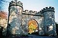 Stourhead, gatehouse in autumn - geograph.org.uk - 484202.jpg