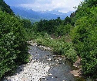 Strona di Postua river in Italy