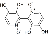 Structure of Orellanine, amine-oxide tautormer.png