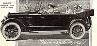 """Studebaker """"Big Six Touring Car"""" Aut..."""