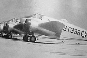 "Stuttgart Army Air Field (Arkansas) - Beechcraft AT-10 Wichita at Stuttgart AAF.  Note fuselage code ""ST""."