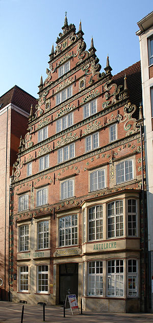 Suding & Soeken building, Bremen - The Suding and Soeken building on Bremen's Langenstraße