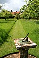 Sundial in the Orchard - geograph.org.uk - 1340787.jpg