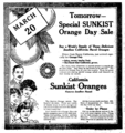 Sunkist oranges newspaper ad.png