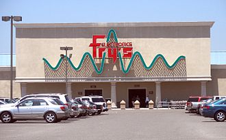 Fry's Electronics - History of Silicon Valley themed store in  Sunnyvale, California.