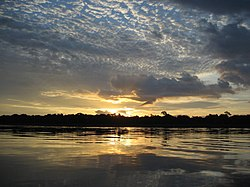 Sunrise on the Congo River - 2.JPG