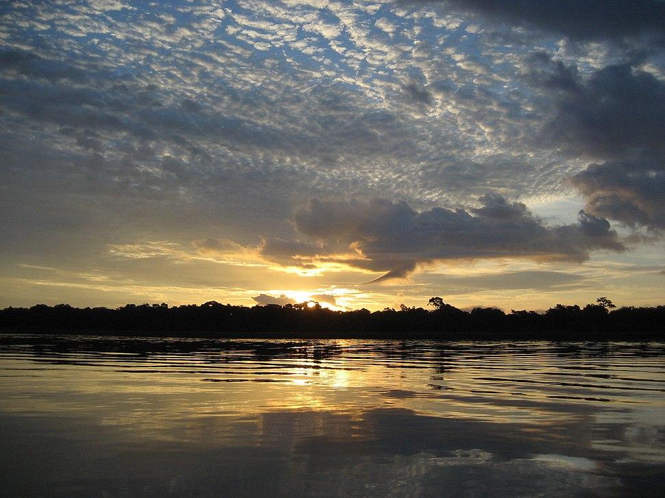 Sunrise on the Congo River - 2