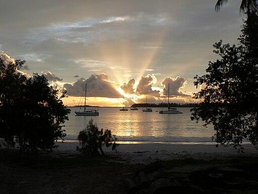 Sunset on Pines Island 2