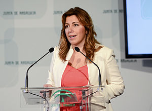 Andalusian regional election, 2015 - Susana Díaz took over from José Antonio Griñán as President of the Regional Government of Andalusia on 7 September 2013.