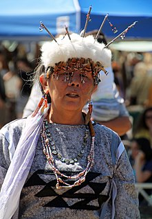 Pomo indigenous people of California