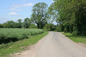 Deeping Gate - Image: Sutton's Lane, Deeping Gate geograph.org.uk 442564
