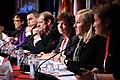 Sveriges nordiska samarbetsminister Ewa Bjorling tillsammans med sina nordiska kollegor vid Nordiska Radets session i Reykjavik pa Island 2010-11-04.jpg