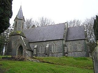 Swatragh village in the United Kingdom