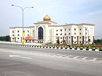 Anak Bukit - New Syariah Court building on the West side