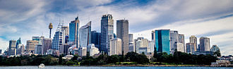 Central business district - Sydney has Australia's second largest CBD