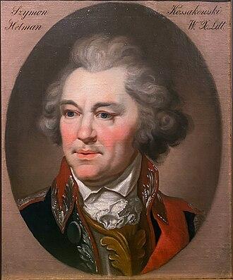 Szymon Marcin Kossakowski - Image: Symon Marcin Kasakoŭski. Сымон Марцін Касакоўскі (J. Damiel, 1812)