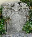 Třebíč Jüdischer Friedhof - Grabstein Hebräisch 5.jpg