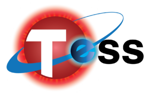 Transiting Exoplanet Survey Satellite - Image: TESS logo (transparent bg)