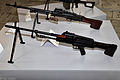 TKB-464 and TKB-015 machine guns at Tula State Museum of Weapons 02.jpg