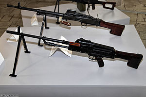 TKB-464 and TKB-015 machine guns at Tula State Museum of Weapons 02.jpg