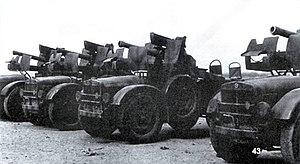 TL.37 - Several, self-propelled gun variant TL.37's