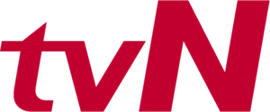 TVN (South Korea) - Former logo used from 2006 to 2012.