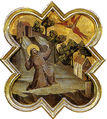 Taddeo gaddi, formelle dell'armadio della sacrestia di santa croce, 03 stimmate di san francesco.jpg