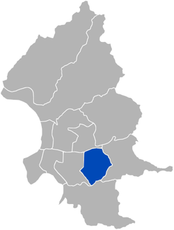 Xinyi District in Taipei City