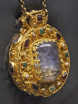 Talisman of Charlemagne - The reverse side of the talisman.
