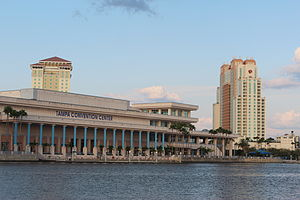 Tampa Convention Center from Bayshore