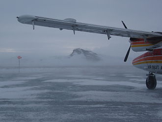 Tasiujaq Airport - The airstrip of the Tasiujaq Airport